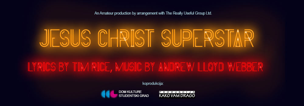 Jesus Christ Superstar – Isus Hrist Superstar